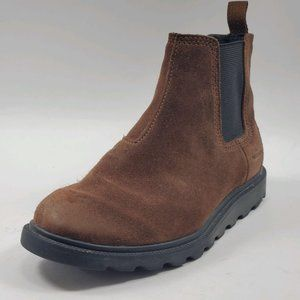 Sorel | Madson Brown Suede Chelsea Boots 1